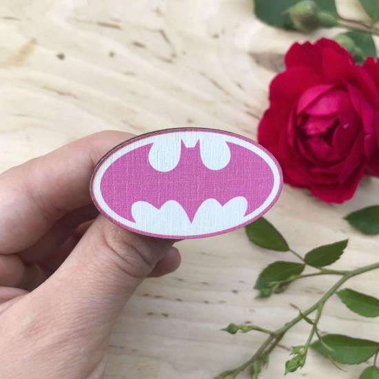 """Значок из дерева """"Бэтмен 2"""""""