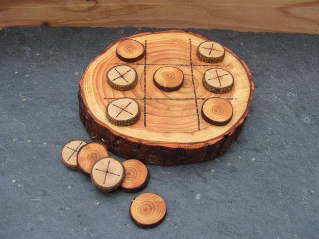Оригинальные поделки из дерева